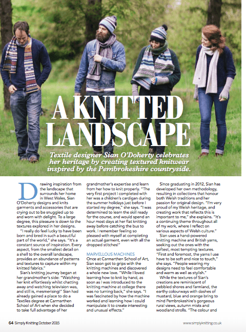 Simply Knitting Magazine , issue 138